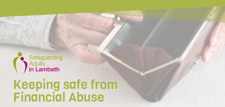 Keeping Safe From Financial Abuse