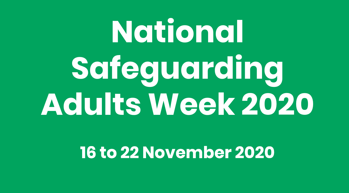 National Safeguarding Adults Week logo